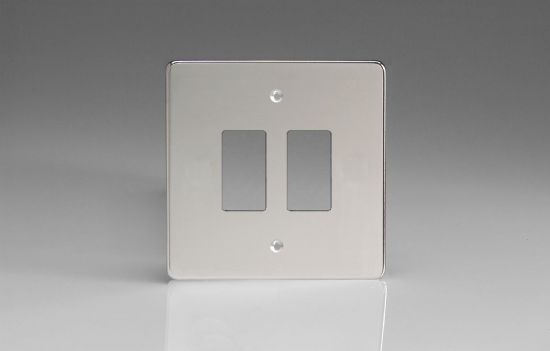 Varilight PowerGrid Plates Polished Chrome